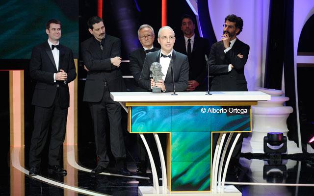 Premios Goya Alberto Ortega